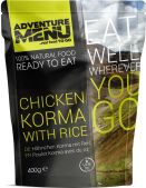 Adventure Menu Chicken Korma mit Reis
