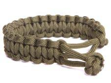 Mandrill Outdoor Paracord Bracelet, adjustable