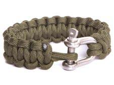 Mandrill Outdoor Paracord Armband mit D-Ring
