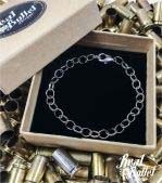 Real Bullet Design Bettelarmband