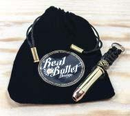Real Bullet Design Key Chain .357 Magnum