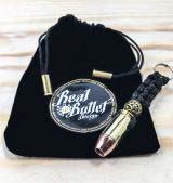 Real Bullet Design Key Chain .45 ACP
