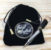 Real Bullet Design Key Chain 5.56NATO Silver Edition