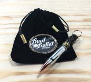 Real Bullet Design Key Chain AK47 Silver Edition