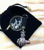 Real Bullet Design Key Chain Captain .45 ACP