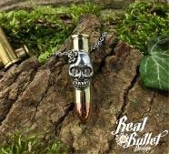 Real Bullet Design Skull Lady .357 Magnum