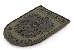 STEINADLER PVC Nationality Badge Federal Armed Forces Original Patch