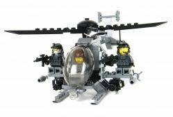 Toy Commandos Army AH-6 Little Bird plus Assault Team