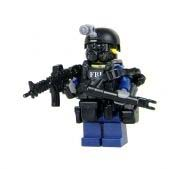 Toy Commandos FBI Critical Incident Response Officer