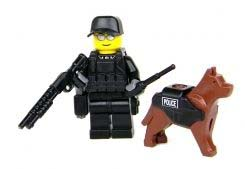 Toy Commandos K9 Police Officer