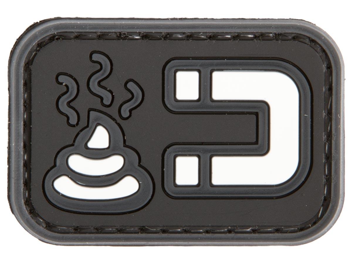 Deploy PVC Patch Shit Magnet